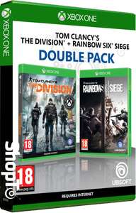 [Xbox One] Tom Clancy's Rainbow Six Siege and The Division Double Pack - £12.85 - Shopto
