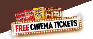 Promotional Free Cinema Tickets with Starburst/Skittles pouches - £1 each @ Morrisons