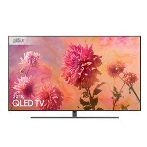 SAMSUNG QLED QE55Q9FNA - With FREE 4K Blu-Ray Player and 24K Gold Plated HDMI £1,299 @ RGB Direct