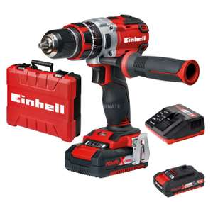 Einhell Power X-Change TE-CD 18 Li-I BL 18V Cordless 2 X 2.0AH Brushless Combi Drill, Fast Charger & Case £90 Delivered @ Wickes