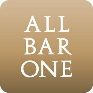 2 free beers and free dessert using All Bar One app