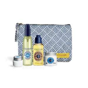 L'occitane FREE gift set + make up bag + Magazine + Free Del with a £35 spend @ Fabled + more...