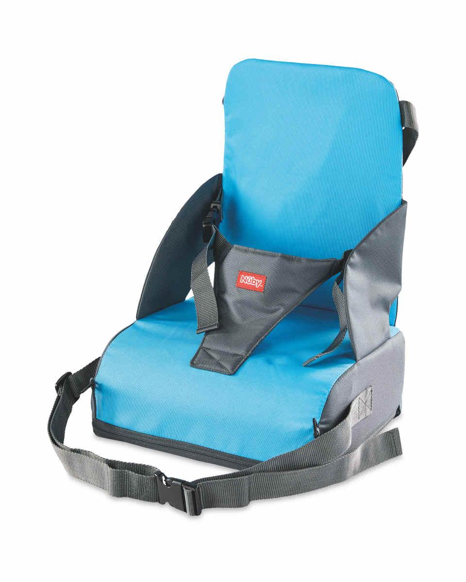 Nuby Blue Travel Booster Seat £11.99 Aldi  (+£2.95 online)