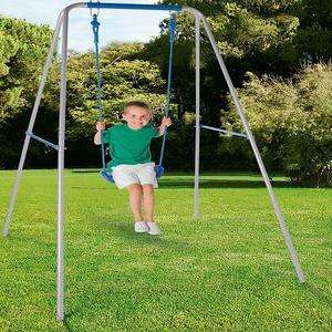 Chad Valley Double Swing Set £32.99 / Single Swing £19.99 / Swing & Glide Multiplay £59.99 C+C @ Argos