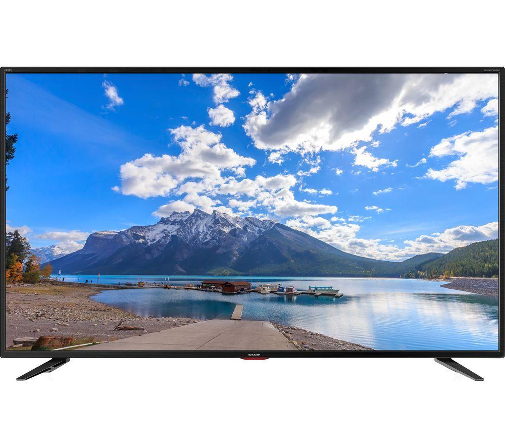 """SHARPLC-40UI7552K 40"""" Smart 4K Ultra HD HDR LED TV £249 Currys"""