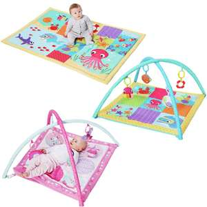 Chad Valley Baby Bright Ocean Large Playmat £12 / Chad Valley Baby Pink Dreamland Play Gym £12 @ Argos (Others in OP / Free C&C)