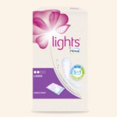 Free TENA lights sample pack