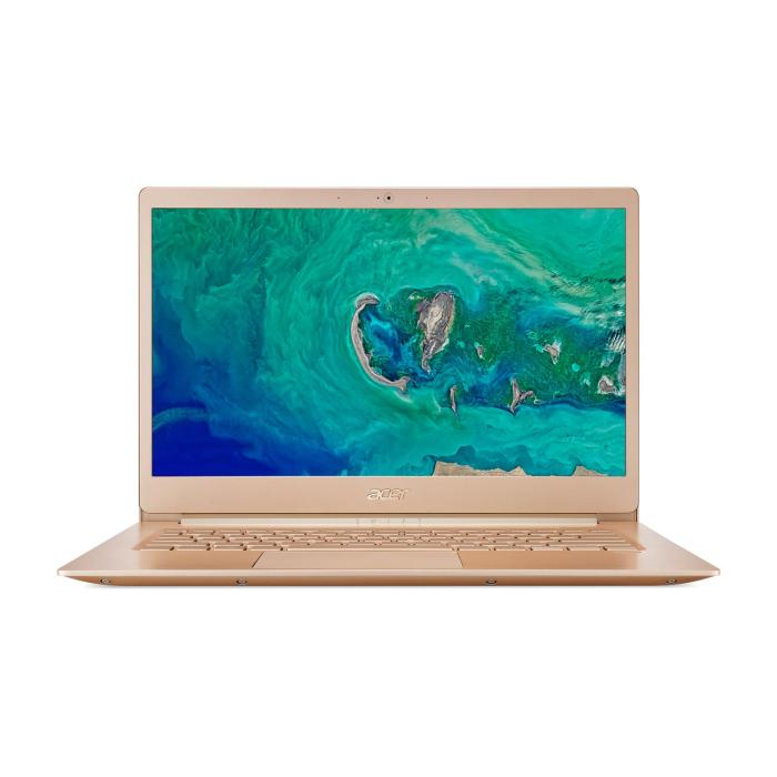 Acer Swift 5 Core i7-8550U 8GB 256GB SSD 14 Inch Full HD Touch Screen Windows 10 Laptop - Gold £699.97 @ Laptops Direct
