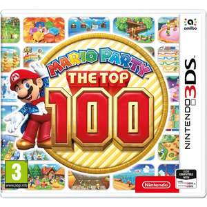 Mario Party Top 100 3DS £15 instore @ Smyths