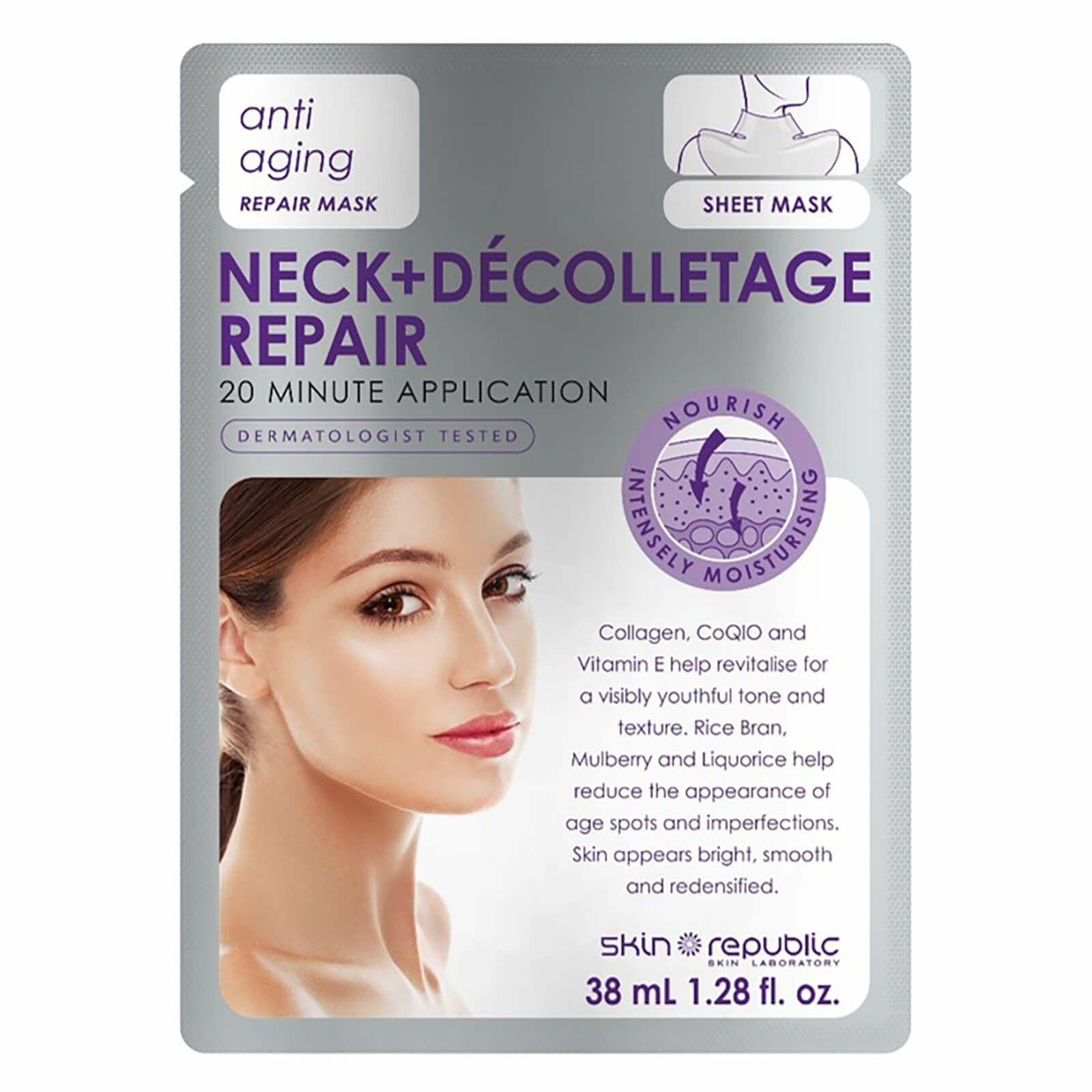 Skin Republic Neck & Decolletage Anti-Ageing Repair Mask - 55p instore at Superdrug