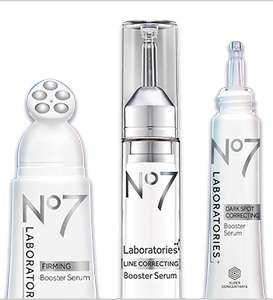 Boots No7 Booster Serums - half price and 3 for 2 + 10% Student Discount + Triple Points *ONLINE AND TODAY ONLY*