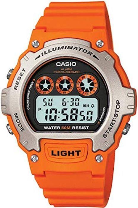 fa6b31a47745 Casio Men s Digital Quartz Watch with Resin Strap W-214H-4AVEF £8.49 Amazon