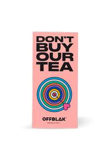 3 Free tea bags Sample - mixed flavours from offblak - free delivery