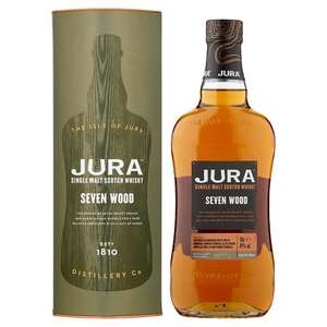 Jura Seven Wood  Malt Whisky 70Cl reduced to clear £31.27 instore at Tesco CoppettsCentre