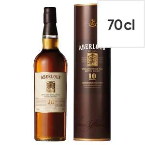 Aberlour 10 Year Old Malt Scotch Whisky 70Cl reduced to clear £16.12 instore @ Tesco Braintree