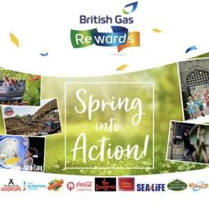 British Gas rewards 50% off top UK attractions for up to 4 people