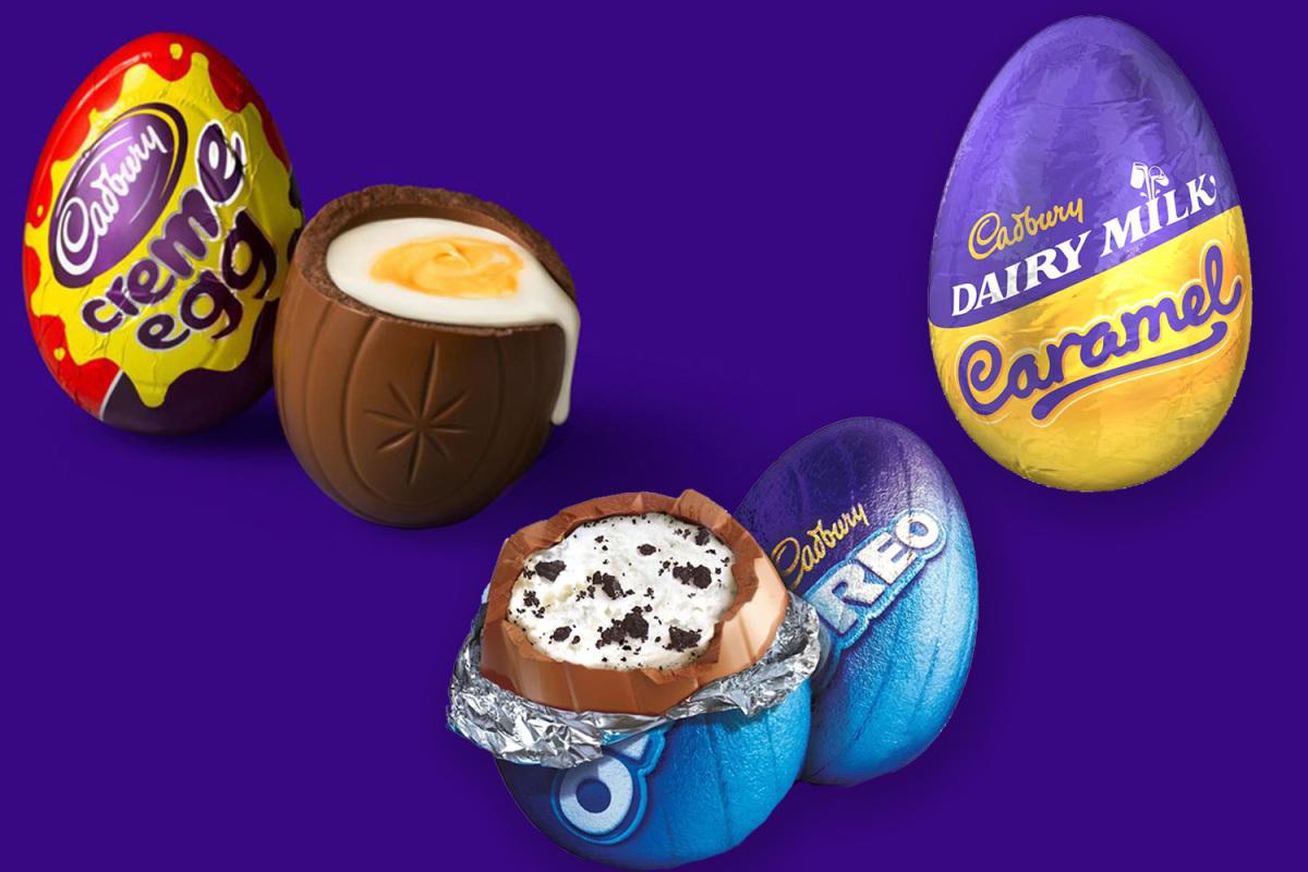Single Creme / Oreo / Caramel eggs only 6p instore Tesco