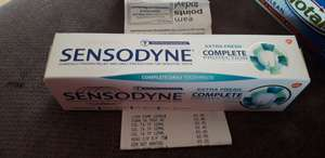 Sensodyne complete protection extra fresh 75ml 50p in-store @ Superdrug