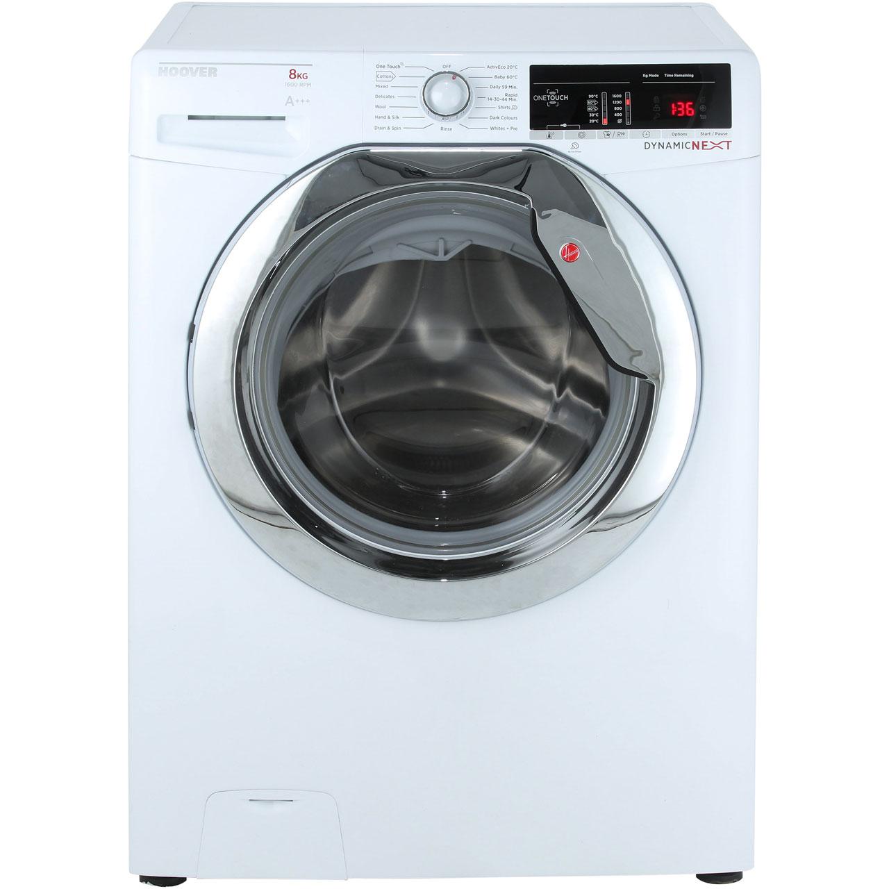 Hoover Dynamic DXOA68C3 8Kg Washing Machine 1600 RPM @ AO