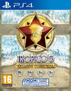 Tropico 5 Complete Collection (PS4) for £15.38 with code delivered @ Zavvi