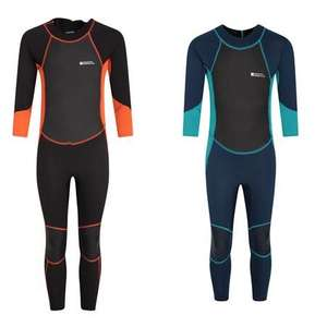 Kids Shorty Wetsuits from £10.39 / Kids Full Wetsuits £21.59 with code + Free C&C on £20 spend @ Mountain Warehouse