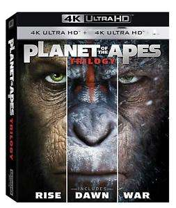 Planet Of The Apes Trilogy (4K Ultra HD) Rise / Dawn / War £14.99 delivered @ The Entertainment Store ebay