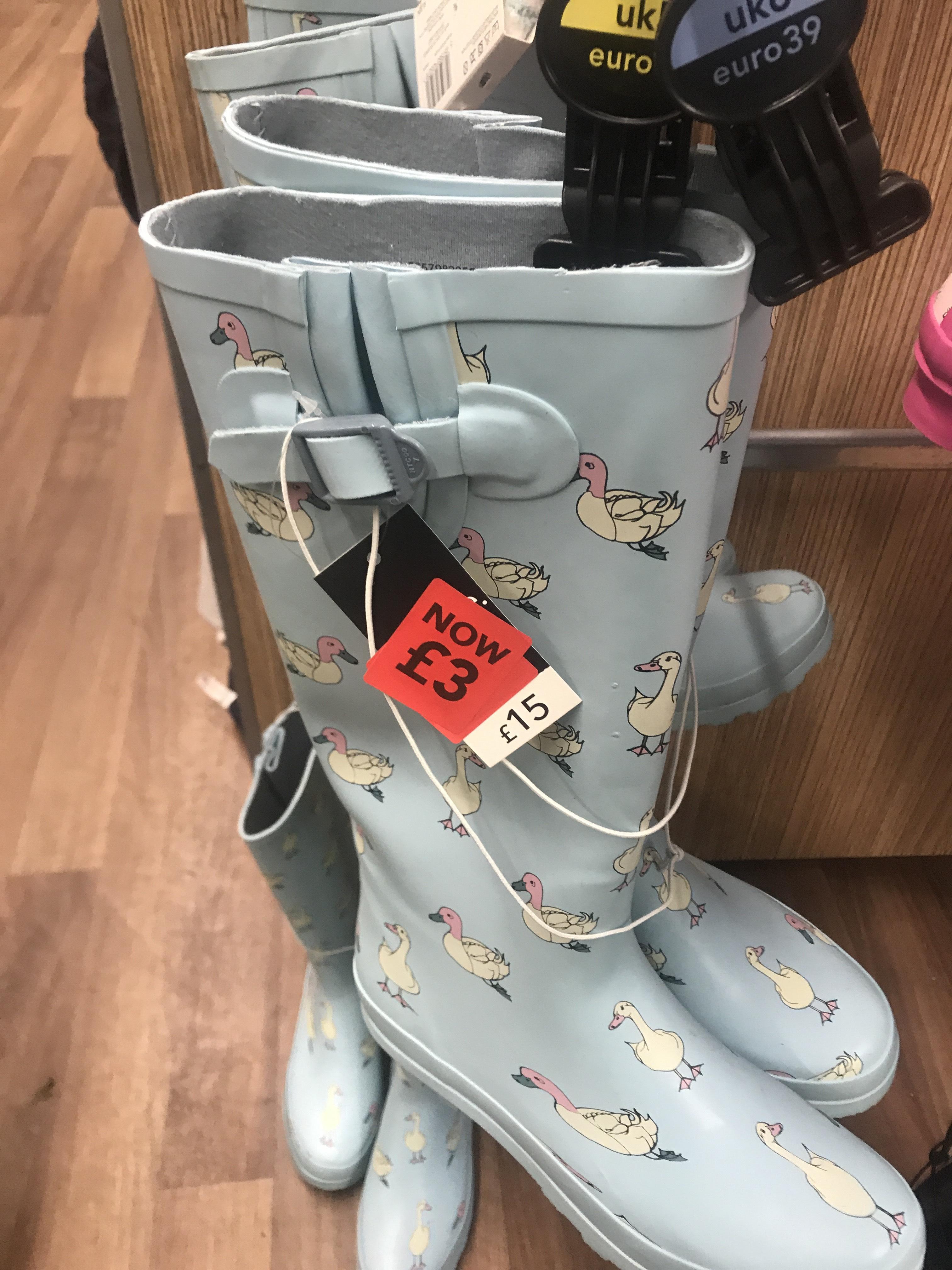 Ladies Wellies £3 In-Store @ George/ASDA
