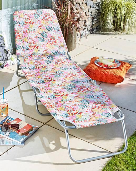 Sun Lounger - £16 @ Fashion World (Free C&C)