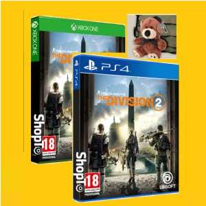 Tom Clancy's The Division 2 + Tommy The Teddy Bear Digital Bonus + Tommy The Teddy Bear for £34.85 Delivered @ Shopto
