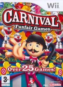 Roll up, roll up! All the fun of the carnival with Carnival Funfair Games Wii - £2.69 (10% off at basket) used - free p&p @ Music Magpie