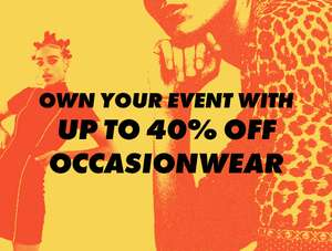 25ec5f692 Up to 40% off Occasion-wear - No code required   ASOS