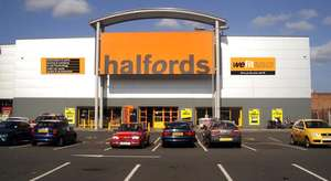 Up to 20% off Selected products at Halfords