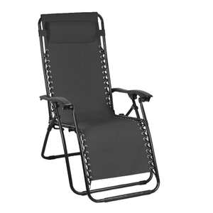 Croft Loire Zero Gravity Recliner @ QDstores £29.99 or two for £40 Free Click & Collect Or £6.99 Delivery Applies