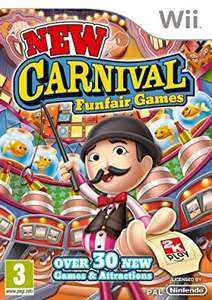 Carnival Games for Wii (used) - Come on over to the carnival for barrels of fun just £6.09 @ World of Books via OnBuy with free delivery
