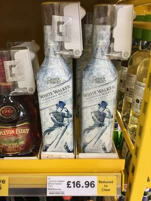 Johnnie Walker White Walker whisky 70cl rtc a£16.96 @ Tesco