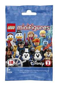 7 x Lego Minifigures Disney Series 2 71024 Packs  for £15.93 with Code @ WHSmith (Free C&C)