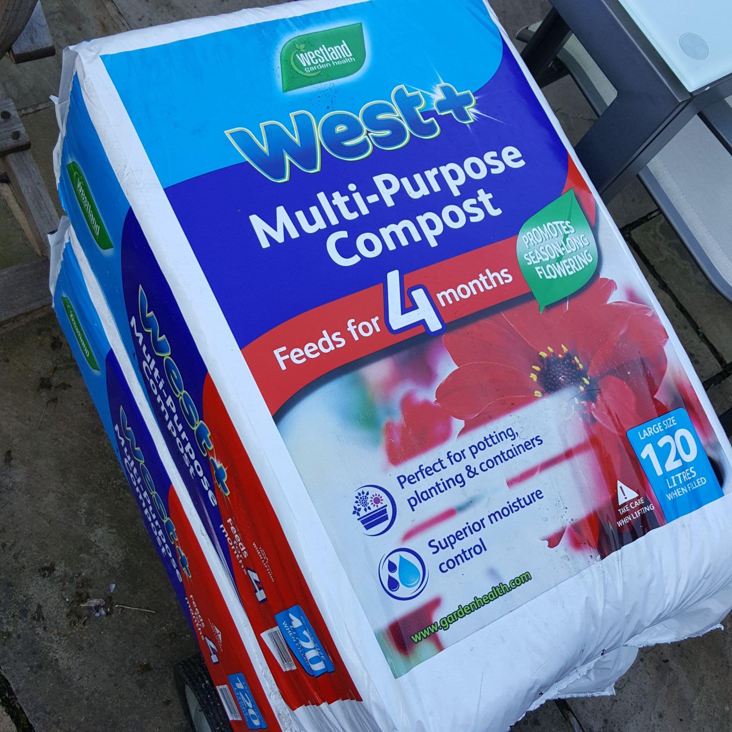 Westland West+ Compost 120l at B&M Stores - £5