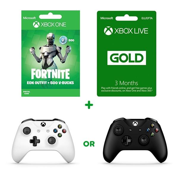 Fortnite Eon Skin 500 Vbucks 3 Months Live Xbox