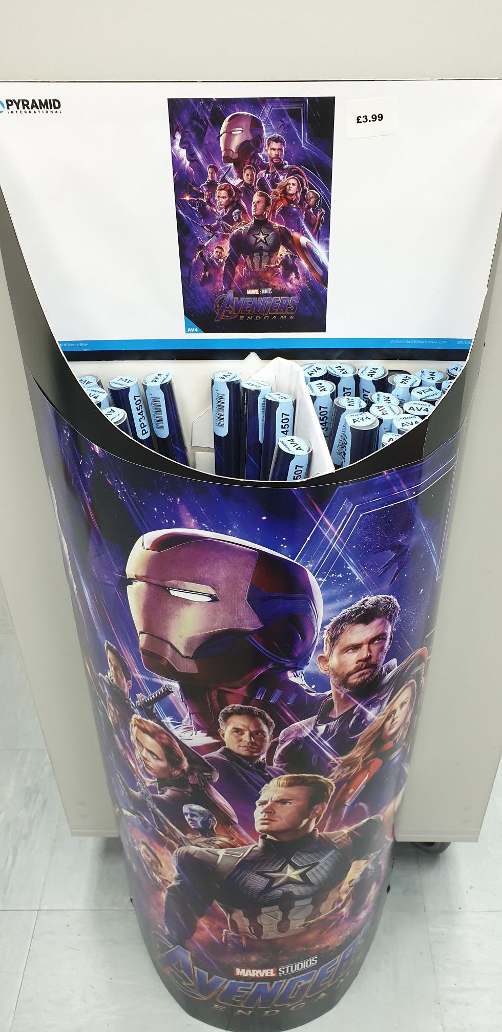 Marvel Avengers Endgame Poster in store at Forbidden Planet - £3.99