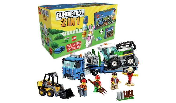 LEGO City Bundle, Harvester Transport and Loader Toy Truck - £17.50 @ Sainsbury's