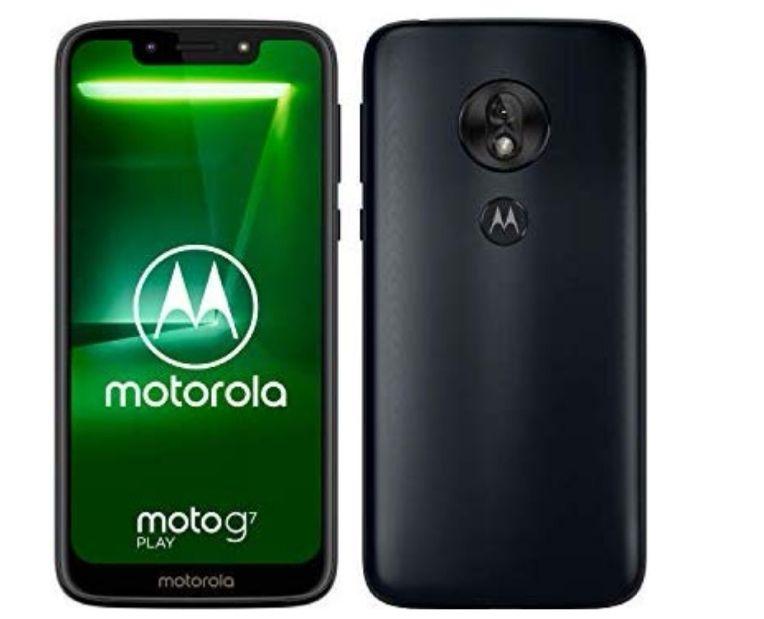 Motorola Moto G7 Play 5.7-Inch Android 9.0 Pie UK Sim-Free Smartphone with 2GB RAM And 32GB Indigo £119.95 @ Amazon