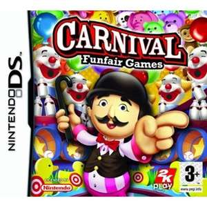 Carnival Games £4 & New Carnival Games for DS £5 @ CeX stores or + £1.50 p&p per item for online orders + 2 yr warranty - roll up, roll up!