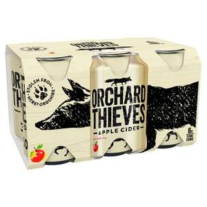 Orchard Thieves Cider  6 x 330ml cans £2.99 Home Bargains
