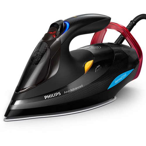Philips GC4933/80 Azur Advanced Steam Iron with OptimalTEMP  & 230g Steam Boost -  3000 W - £61.92 @ Philips
