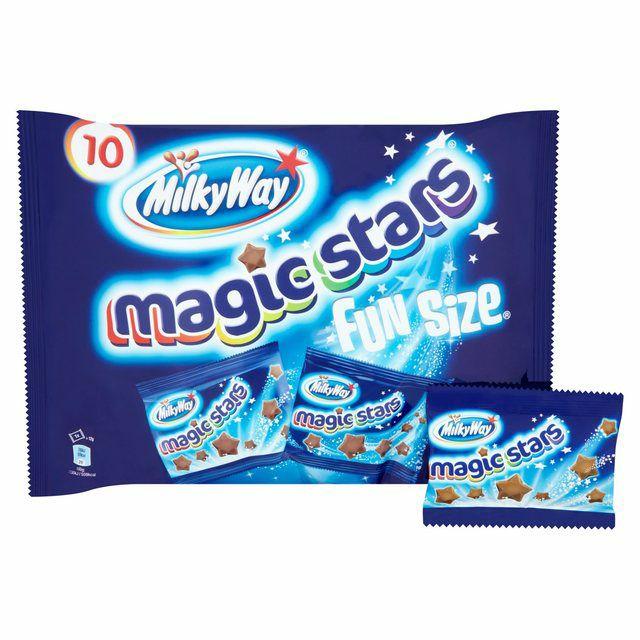 Milky Way Magic Stars Fun Size 10 x 12g (120g) - 50p @ Fulton Foods