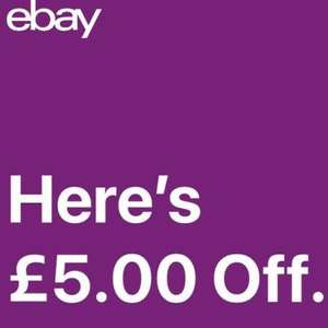 eBay £5 off £10 voucher *probably account specific*
