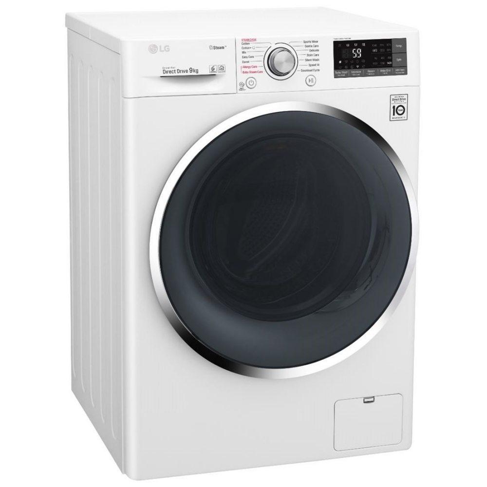 LG Steam 9KG F4J6VY2W Washing Machine £369 / LG Steam F4J6JY1W 10KG Washing Machine + 5 year warranty £389 with code @ Marks Electrical