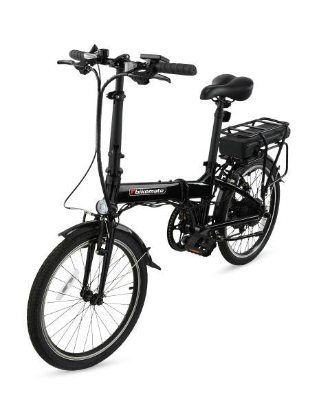 Black Foldable Hybrid Electric Bike £499.99 Delivered @ Aldi