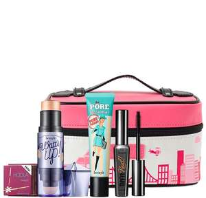 Choose your own custom Mini Make Up Benefit bundle from £35 - Comes with a free cosmetic bag @ Benefit
