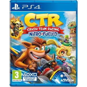 5% off under £75 Eg Crash Team Racing Nitro-Fueled PS4/XBOX ONE/Nintendo Switch Pre Order £28.45 /Shadow of The Tomb Raider PS4 £17.05 @ TGC
